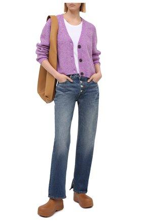 Женские джинсы GANNI синего цвета, арт. F5481 | Фото 2