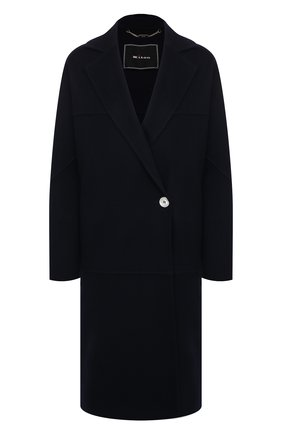 Женское кашемировое пальто KITON темно-синего цвета, арт. D51609DK05I38 | Фото 1