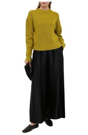 Женский шерстяной свитер PROENZA SCHOULER WHITE LABEL зеленого цвета, арт. WL2117570-KW120 | Фото 2