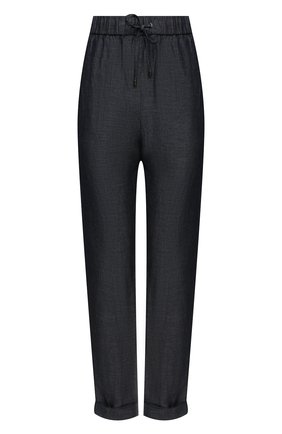 Женские брюки GIORGIO ARMANI синего цвета, арт. 1SHPP0H2/T02GG | Фото 1