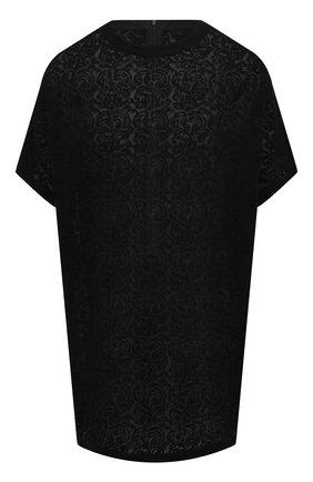 Женский хлопковый топ Y`S черного цвета, арт. YT-B45-034   Фото 1