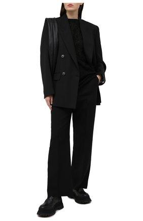 Женский хлопковый топ Y`S черного цвета, арт. YT-B45-034   Фото 2