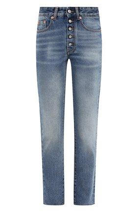 Женские джинсы MM6 синего цвета, арт. S52LA0148/S30589 | Фото 1