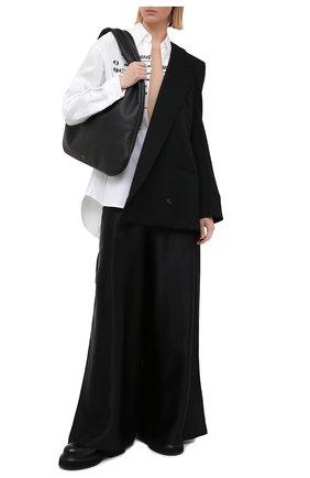 Женская хлопковая рубашка MM6 белого цвета, арт. S52DL0149/S47294 | Фото 2