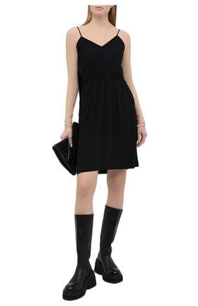 Женское платье MM6 черного цвета, арт. S52CT0591/S43455 | Фото 2