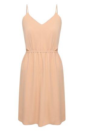 Женское платье MM6 бежевого цвета, арт. S52CT0591/S43455 | Фото 1