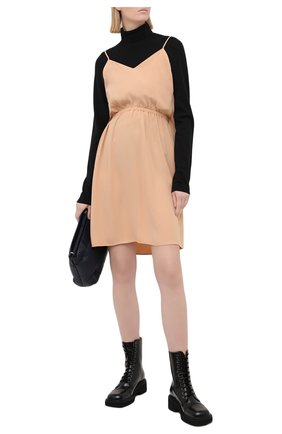 Женское платье MM6 бежевого цвета, арт. S52CT0591/S43455 | Фото 2