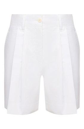 Женские хлопковые шорты LANVIN белого цвета, арт. RW-TR515U-4408-P21 | Фото 1