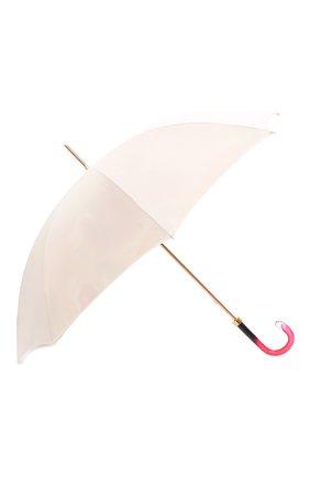 Женский зонт-трость PASOTTI OMBRELLI белого цвета, арт. 189/RAS0 55123/274/G15 | Фото 2