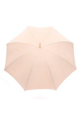 Женский зонт-трость PASOTTI OMBRELLI розового цвета, арт. 189/RAS0 5F211/8/S7 | Фото 1 (Материал: Текстиль, Синтетический материал, Металл)