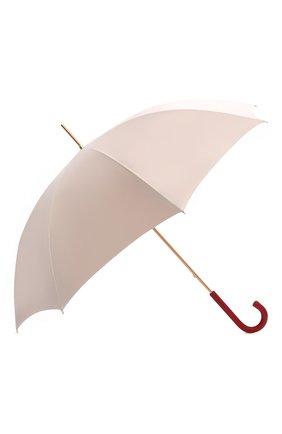 Женский зонт-трость PASOTTI OMBRELLI розового цвета, арт. 189/RAS0 5Z779/1 | Фото 2 (Материал: Металл, Текстиль, Синтетический материал)