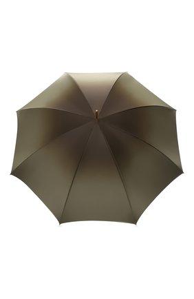 Женский зонт-трость PASOTTI OMBRELLI зеленого цвета, арт. 189/RAS0 90115/5/A35   Фото 1