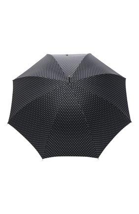 Женский зонт-трость PASOTTI OMBRELLI темно-синего цвета, арт. 478/ATENE/7/N48 | Фото 1