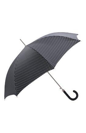 Женский зонт-трость PASOTTI OMBRELLI темно-синего цвета, арт. 478/ATENE/7/N48 | Фото 2