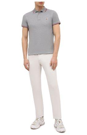 Мужские джинсы ERMENEGILDO ZEGNA белого цвета, арт. UWI60/JS01 | Фото 2 (Длина (брюки, джинсы): Стандартные; Материал внешний: Хлопок; Кросс-КТ: Деним; Стили: Кэжуэл; Силуэт М (брюки): Прямые)