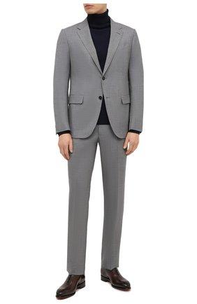 Мужской шерстяной костюм ERMENEGILDO ZEGNA серого цвета, арт. 922529/22FTKY | Фото 1