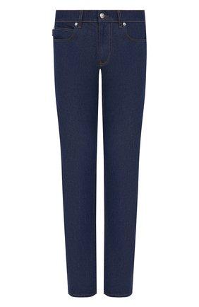 Мужские джинсы VERSACE синего цвета, арт. A88702/1F00657 | Фото 1