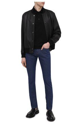 Мужские джинсы VERSACE синего цвета, арт. A88702/1F00657 | Фото 2