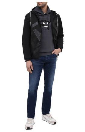 Мужская утепленная куртка EMPORIO ARMANI черного цвета, арт. 3K1BS7/1NZQZ   Фото 2