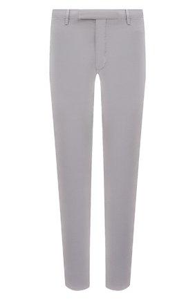 Мужские хлопковые брюки POLO RALPH LAUREN серого цвета, арт. 710644988 | Фото 1 (Материал внешний: Хлопок; Длина (брюки, джинсы): Стандартные; Случай: Повседневный; Стили: Кэжуэл)