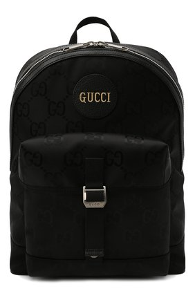 Мужской текстильный рюкзак off the grid GUCCI черного цвета, арт. 644992/H9H0N | Фото 1 (Материал: Текстиль; Ремень/цепочка: На ремешке)
