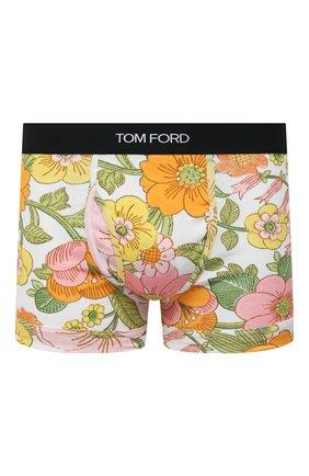 Мужские хлопковые боксеры TOM FORD разноцветного цвета, арт. T4LC31290   Фото 1