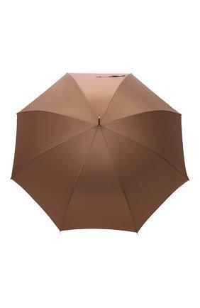 Мужской зонт-трость PASOTTI OMBRELLI коричневого цвета, арт. 479/RAS0 0XF0RD/2/K81 | Фото 1