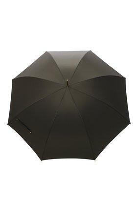 Мужской зонт-трость PASOTTI OMBRELLI хаки цвета, арт. 479/RAS0 0XF0RD/10/K48 | Фото 1