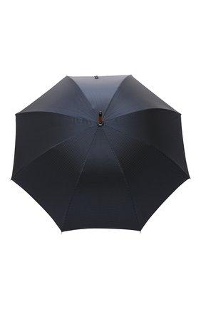 Мужской зонт-трость PASOTTI OMBRELLI темно-синего цвета, арт. 142/PUNT0/4 | Фото 1