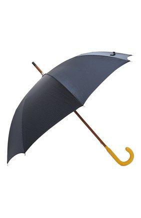 Мужской зонт-трость PASOTTI OMBRELLI темно-синего цвета, арт. 142/PUNT0/4 | Фото 2