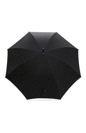 Мужской зонт-трость PASOTTI OMBRELLI черного цвета, арт. 142/MILITARE 11780/142 | Фото 1