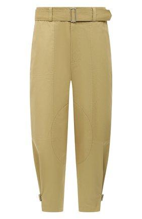 Мужские хлопковые брюки JW ANDERSON бежевого цвета, арт. TR0121 PG0464 | Фото 1