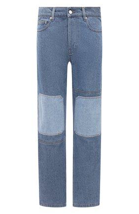 Мужские джинсы JW ANDERSON синего цвета, арт. DT0006 PG0427 | Фото 1
