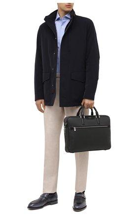 Мужская сумка для ноутбука stepan SERAPIAN темно-серого цвета, арт. SRSTPMLL692940I | Фото 2