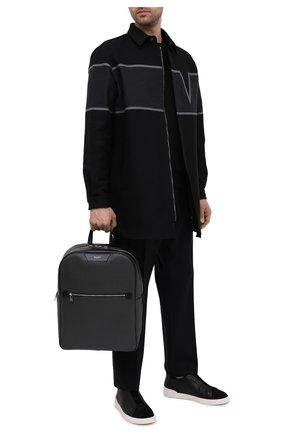 Мужской рюкзак stepan SERAPIAN серого цвета, арт. SRSTPMLL700631D | Фото 2