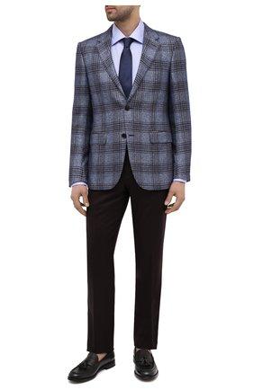 Мужские кожаные лоферы BARRETT темно-коричневого цвета, арт. 211U046.9/RIX0N | Фото 2