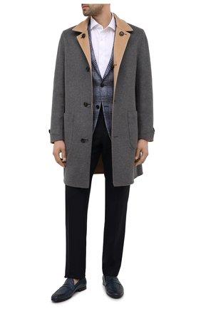 Мужские кожаные пенни-лоферы BARRETT синего цвета, арт. 201U009.6/C0RSAR0 INTR.411 | Фото 2
