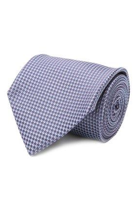 Мужской шелковый галстук BRIONI сиреневого цвета, арт. 062I00/P0476 | Фото 1