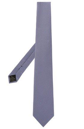 Мужской шелковый галстук BRIONI сиреневого цвета, арт. 062I00/P0476 | Фото 2