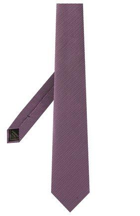 Мужской шелковый галстук BRIONI фиолетового цвета, арт. 062I00/P041L | Фото 2 (Материал: Текстиль, Шелк; Принт: С принтом)