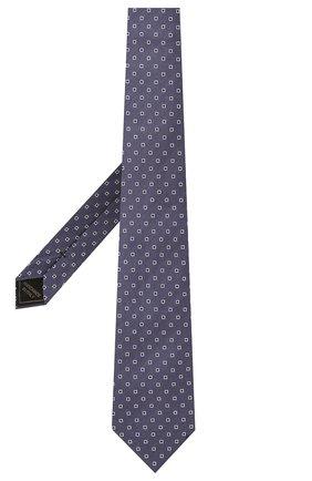 Мужской галстук из шелка и льна BRIONI фиолетового цвета, арт. 062H00/P0434 | Фото 2 (Материал: Лен, Текстиль, Шелк; Принт: С принтом)