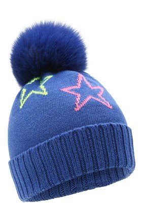 Детского шапка CHOBI синего цвета, арт. WH-3035 | Фото 1