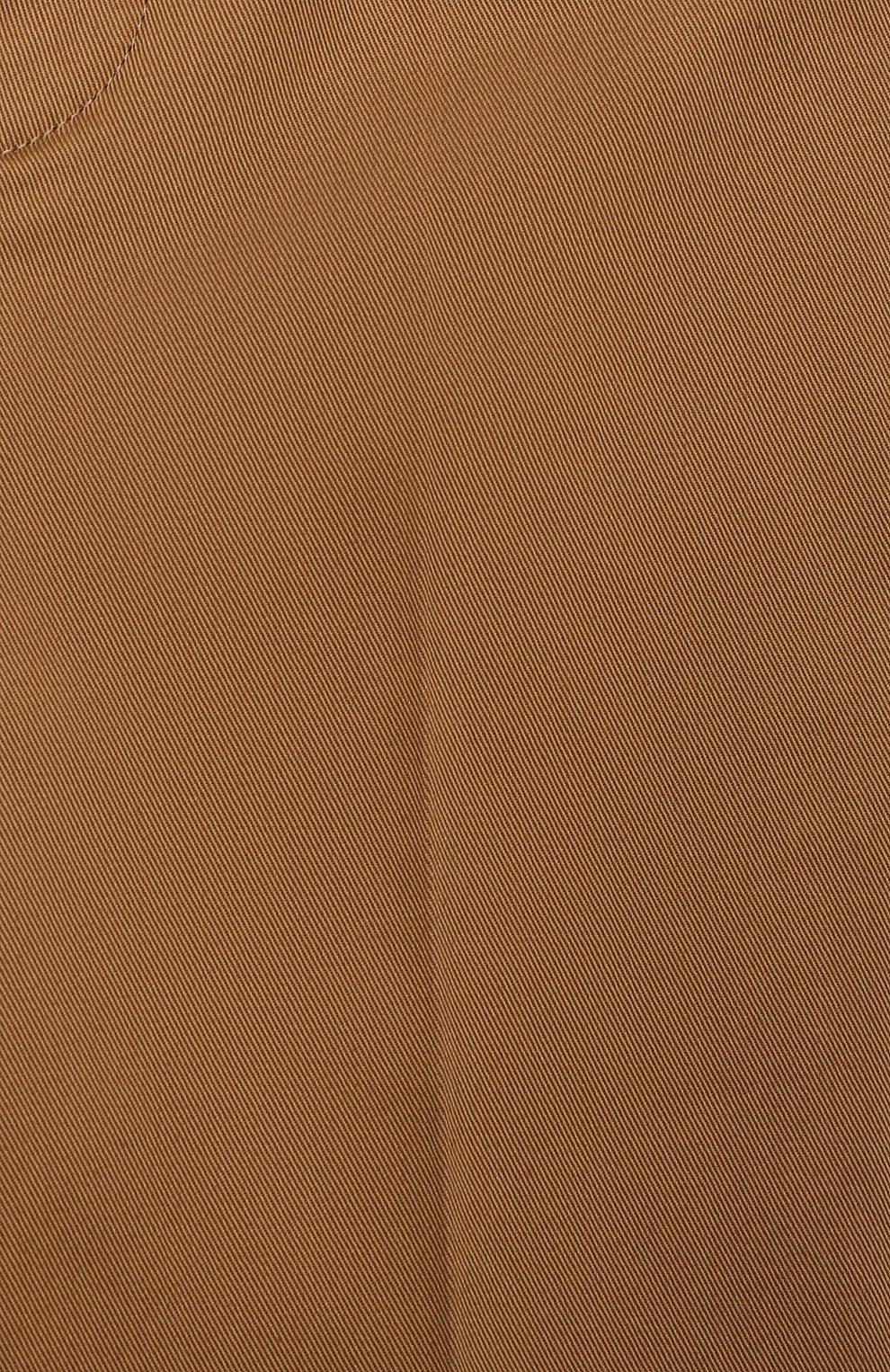 Детские хлопковые брюки GUCCI бежевого цвета, арт. 644639/XWAMP | Фото 3