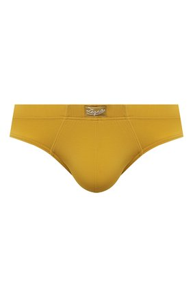 Мужские брифы ERMENEGILDO ZEGNA желтого цвета, арт. N3L611210   Фото 1