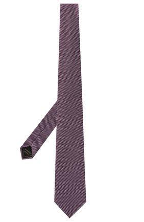 Мужской шелковый галстук BRIONI сиреневого цвета, арт. 062H00/P041L | Фото 2