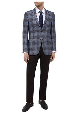 Мужские кожаные пенни-лоферы BARRETT темно-коричневого цвета, арт. 131U016.7/CERV0 ASP0RTABILE | Фото 2