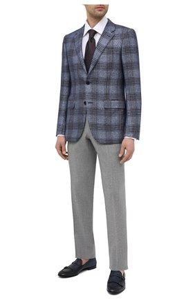 Мужские кожаные пенни-лоферы BARRETT темно-синего цвета, арт. 211U020.5/RIX0N | Фото 2