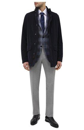 Мужские кожаные оксфорды BARRETT темно-серого цвета, арт. 211U026.5/BETIS CREAM | Фото 2
