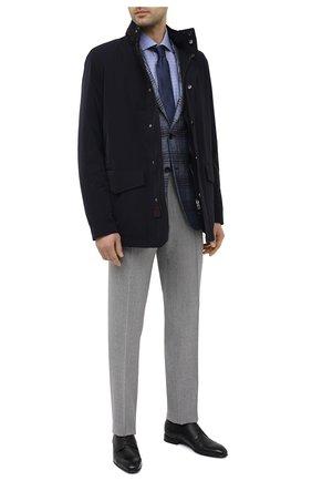 Мужские кожаные оксфорды BARRETT черного цвета, арт. 211U054.1/BETIS CREAM | Фото 2