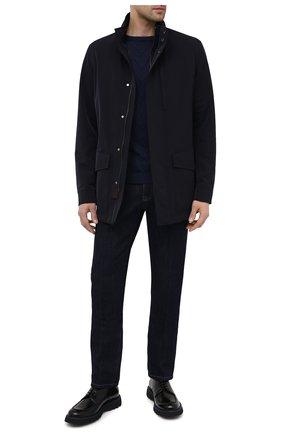 Мужские кожаные дерби BARRETT черного цвета, арт. BASTIA-008.6/SPAZZ0LAT0 | Фото 2
